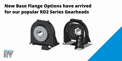 New Base Flange Options have arrived for our popular RD2 Series Gearheads