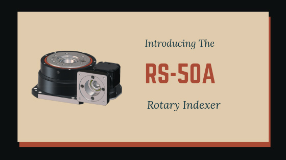 nabtesco rotary indexer rs-50a